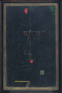 Klee Portrait of an Artist
